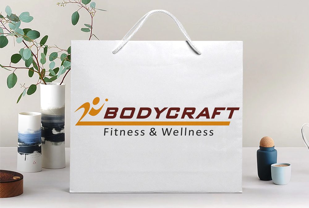 Bodycraft fitness and wellness welcome kit bag design artbuzz Advertising