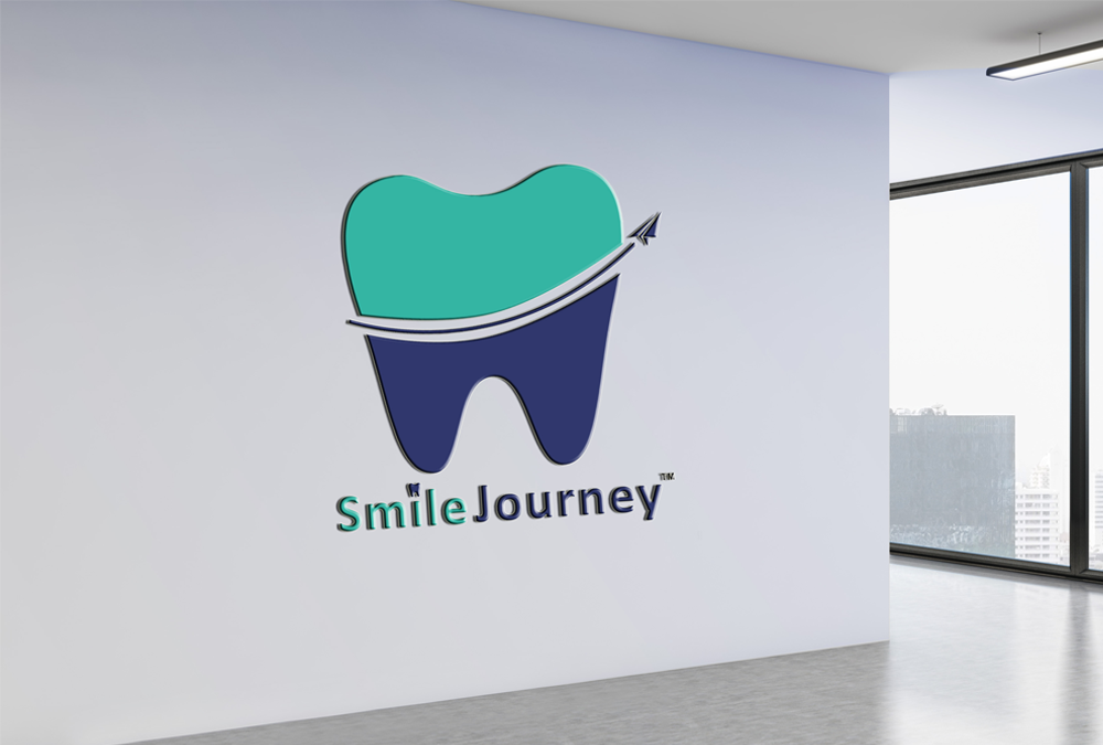 smilejourney dental care clinic logo designing artbuzz advertising